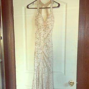 Evening Sequin Dress